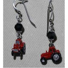 Tractor Earrings Massey Ferguson No. e12308