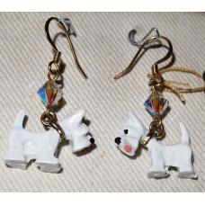 Scottish Terrier Earrings No. e12325