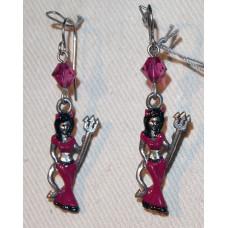 Female Devil Earrings No. e14293