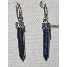 Stave in Lapis Lazuli Earrings No. e15134