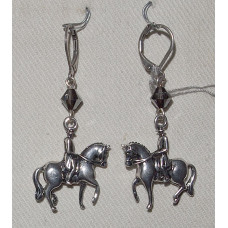 Horse Dressage Equipage Earrings No. e15154