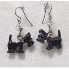 Scottish Terrier Earrings no e16034