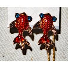 Goldfish Earrings No. e16080