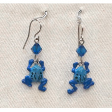 Frog Earrings no e16301
