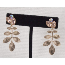 Branch with Crystal Earrings No. e17138
