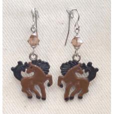 Horse Viking Horse Earrings no e17143
