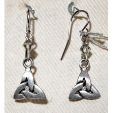 Celtic Knot (triquetra) Earrings No. e18034