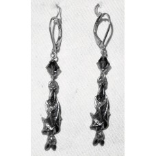 Bat Earrings No. e18064 with Awaiting the Eventide from Alchemy England