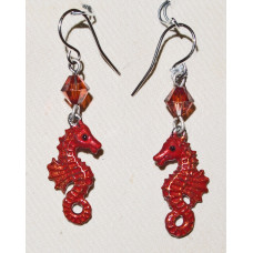 Seahorse Earrings No. e19140