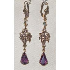 Bunch of Grapes Earrings No. e19160