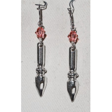 Nib for Fountain Pen Earrings No. e19185