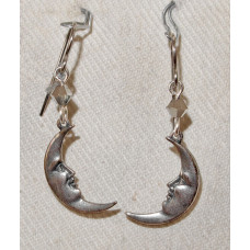 Man in the Moon Earrings No. e19196