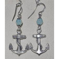 Boating Anchor Earrings No. e19201
