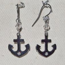 Boating Anchor Earrings No. e19213