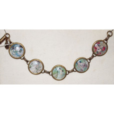 Art Nouveau Cameo Bracelet Tribute to Alphonse Mucha No. m11014
