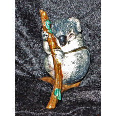 Jewellry Case Koala on Branch with Cub No. m17019