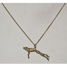 Frog Jumping Pendant No. n16452