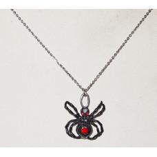 Spider Pendant No. n18026 - Handpainted Fantasy Spider
