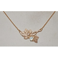 Currant Leaves Necklace No. n18088