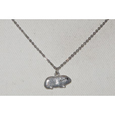 Guinea Pig Pendant and Chain No. n18137