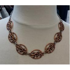 Copper Lizards Necklace No. n19073