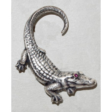 Alligator Brooch No. b05068