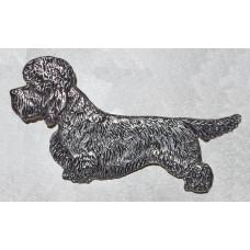 Dandie Dinmont Terrier Standing Brooch No. b11040