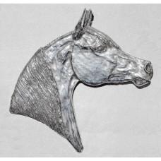 Horses Head Arabian Brooch No. b15029