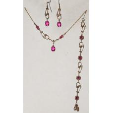 Stethoscope in Pink Jewelery Set No. s06039