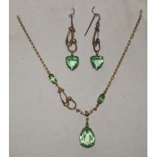 Stethoscope in Green Jewelery Set No. s06040