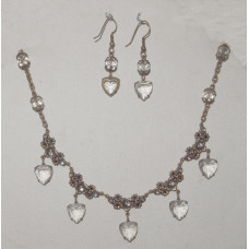 Hearts and Roses Jewelery Set No. s14002