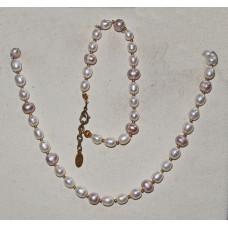 Freshwater Pearls Jewelery Set No. s15013