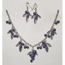 Blueberry Bushes Jewelery Set No. s16025