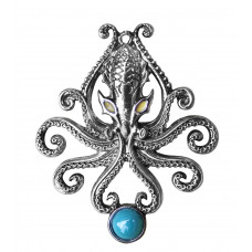 Kraken Pendant for Wild Adventures by Briar - Octopus